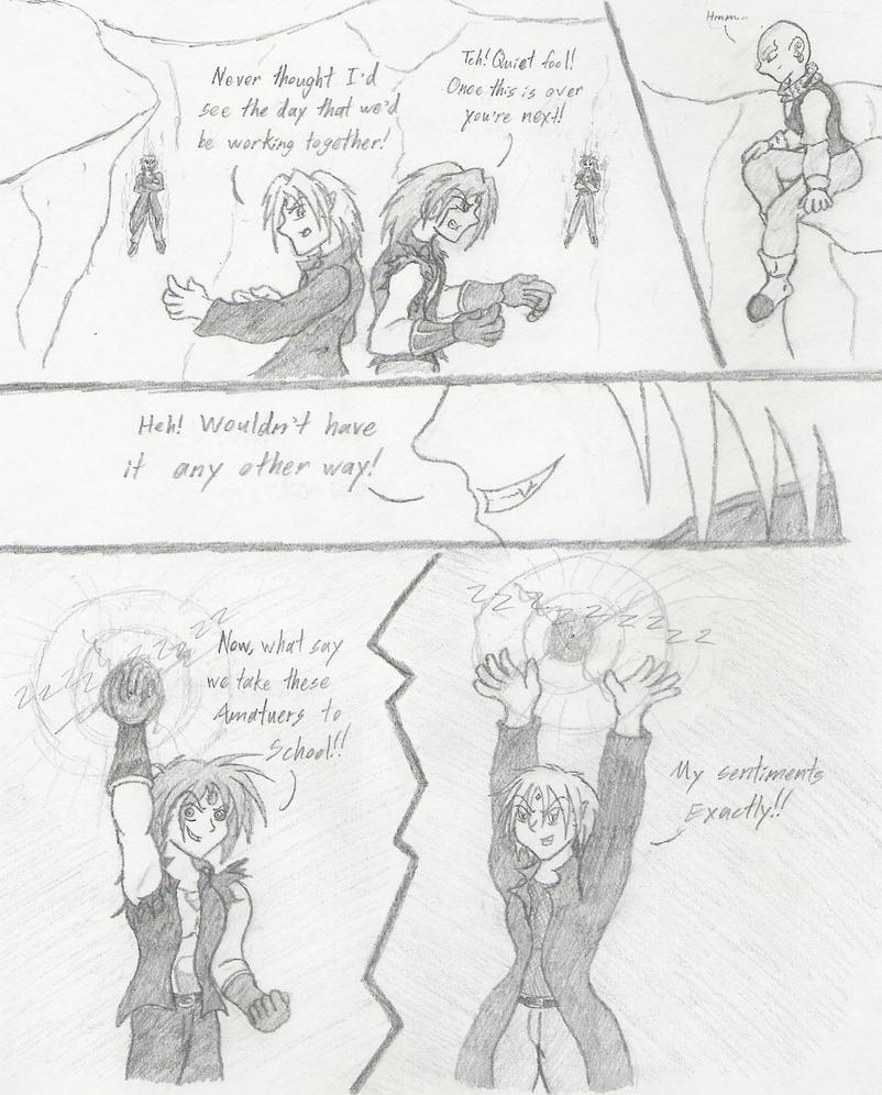 Budokai AJ2 Page1 by FallenAngelSefra