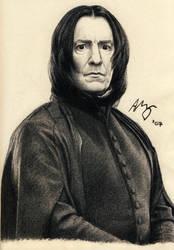 Severus Snape by Lyvyan
