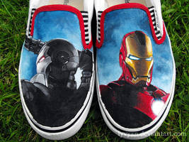 Iron Man shoes by Lyvyan