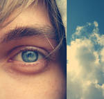 I see sky in your eyes