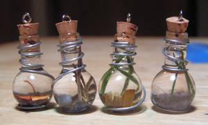 Magic Vial Elemental Set