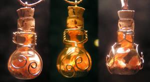 Magic Vial - Golden