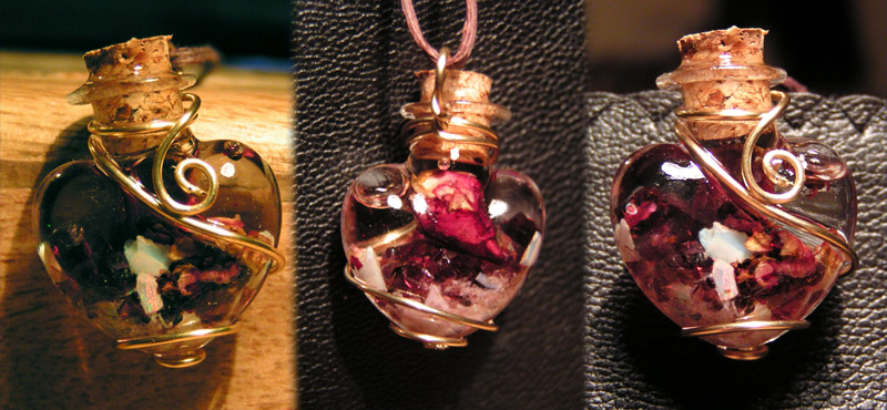 Magic Vial - Heart of Creativity by Izile