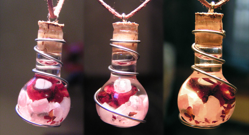 Magic Vial - Love Charm Pendant by Izile