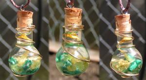 Magic Vial - Fresh Spring Pendant