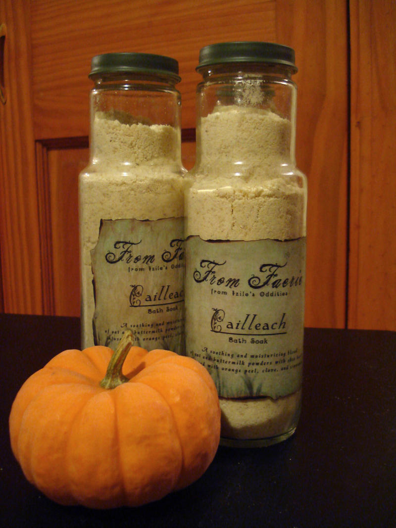 From Faerie: Cailleach Bath Soak - Buttermilk Bath by Izile
