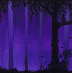 Ghost Trees: Faerie by Izile