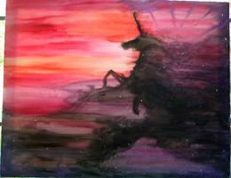 Unicorn Nebula by Izile