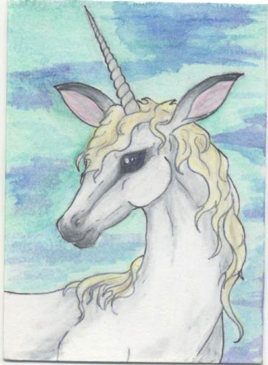 Unicorns are so cute, it's easy to forget the almost inherent tragedy that