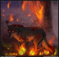 Forest Fire by KazeraVX
