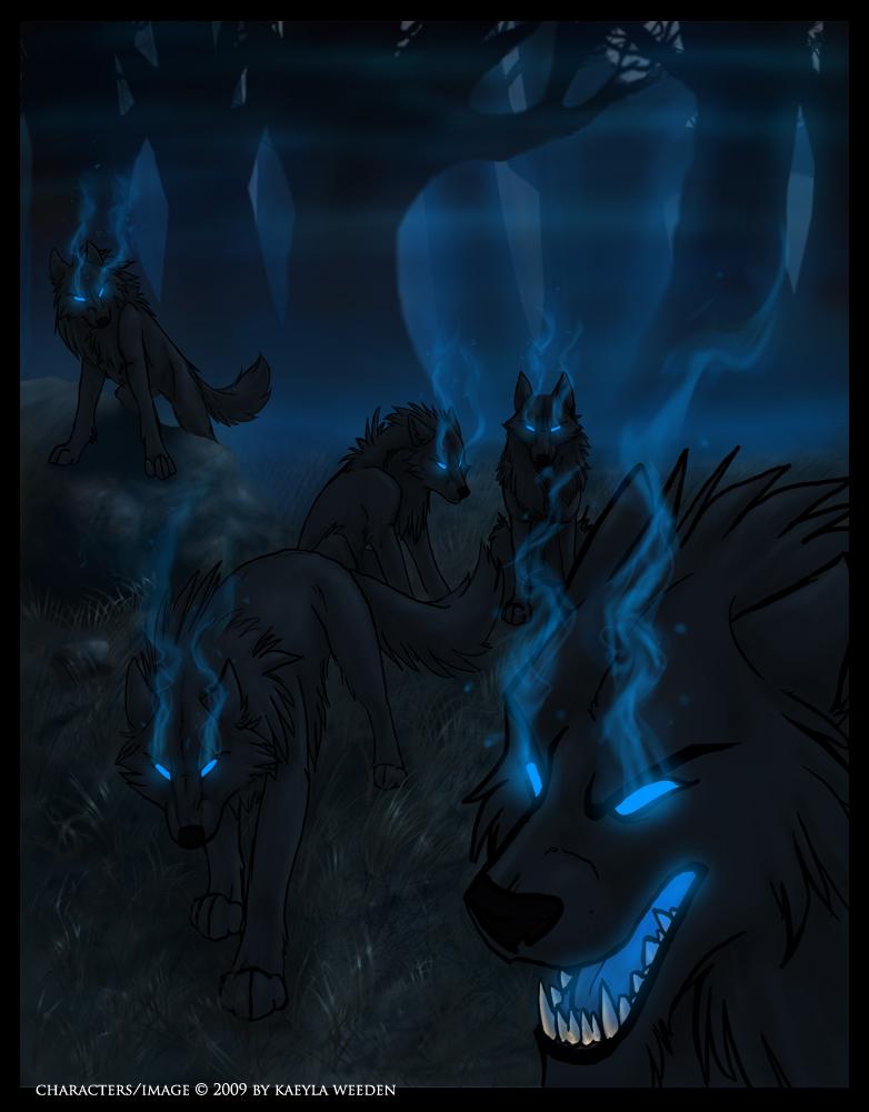 Element Tribes (Wolves) Dark_Flame_by_Kazera_Emberhowl