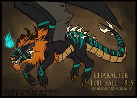 DESIGN SALE: DRAGONWOLF CONCEPT by KazeraVX