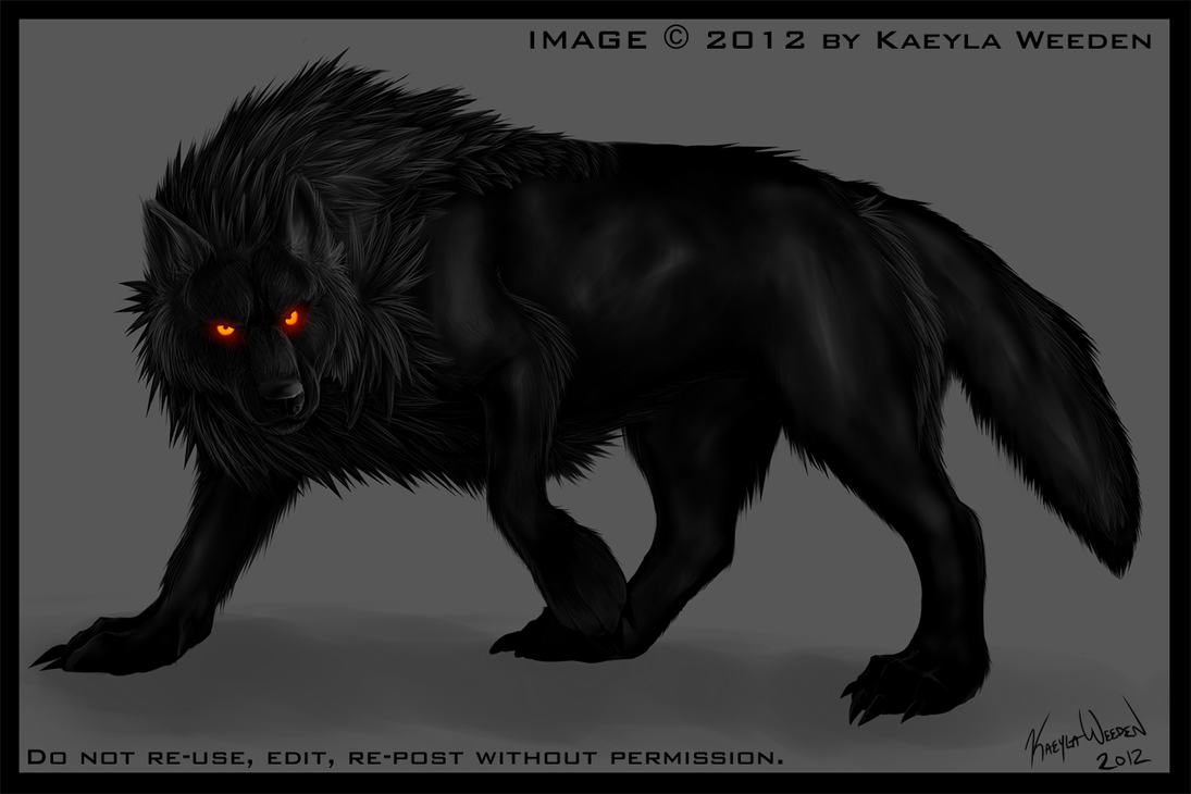 Blackwolf: Practice by KazeraVX on DeviantArt