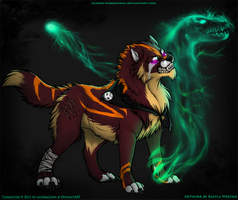 Commission: Necromancer by KazeraVX