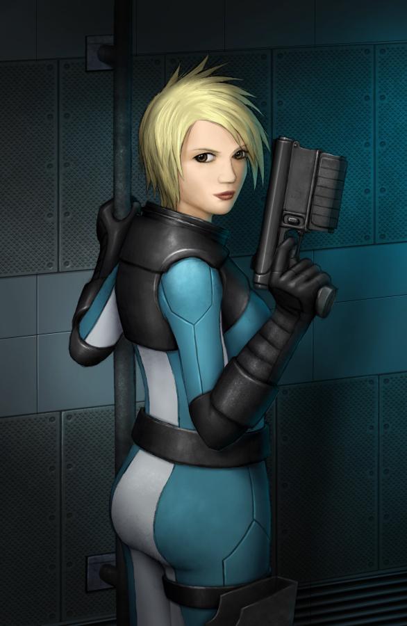 Sci-fi Pin-Up girls - Sharenator