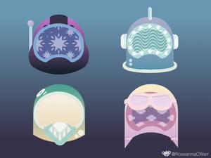 VR Helmet Concepts