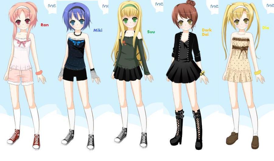 KawaiiPandahs Anime Dress Up Game  eLouai