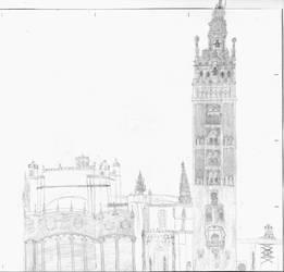 Catedral de Sevilla by Francolm