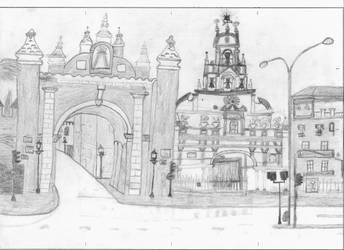Basilica de la Macarena by Francolm