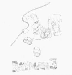 Rayman 3 by Francolm