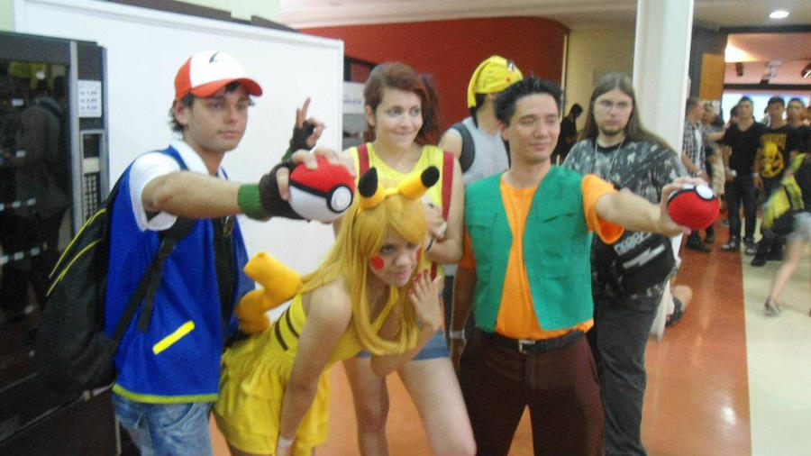 cosplay pikachu brock mist ash by kosplayers on deviantart