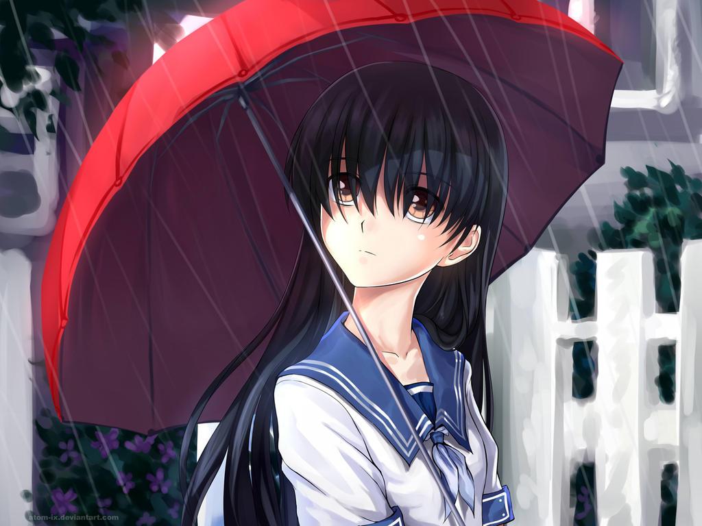 Ochibana Ame by ATOMixArt