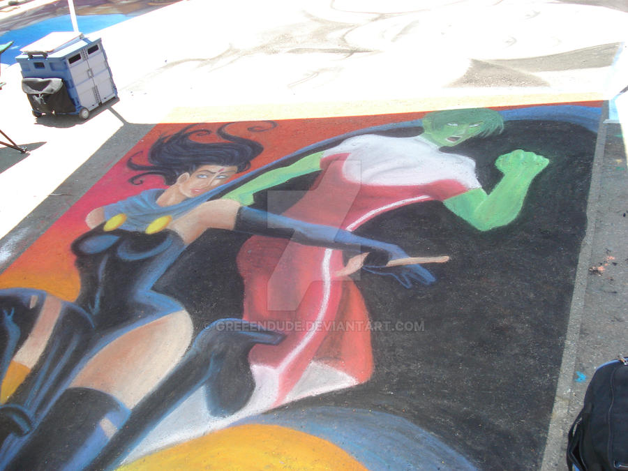 Temecula Street Painting 2010 by greeenDudE