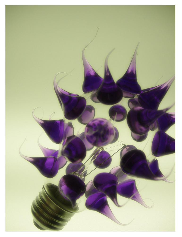funky light bulb by under3foldingstars on deviantart