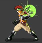 Cygnus OC pixel challenge(Xagia Rumble NextHeaven) by drk2cl