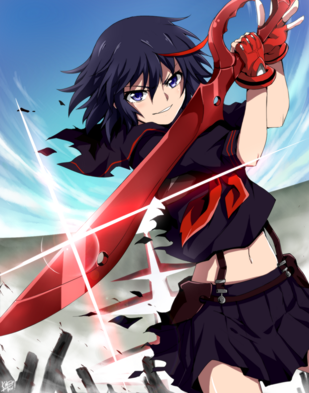 Matoi Ryuko -Kill la Kill by kago-tan