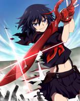 Matoi Ryuko -Kill la Kill by kago-tan