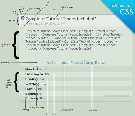 Journal Tutorial -copyable CSS