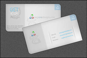 business card v1 by AskGooroo