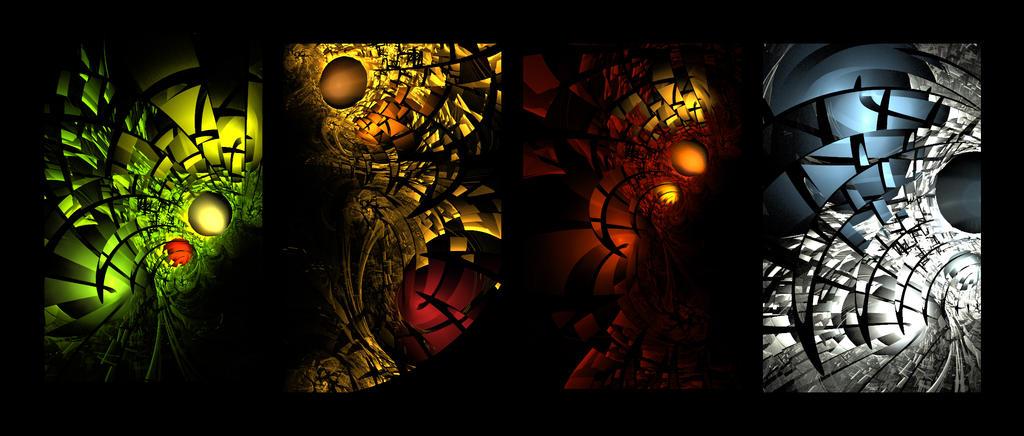 Fractal Seasons by rene-r