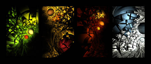 Fractal Seasons by rene-r