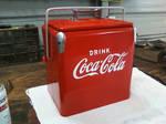 Restored Coke Box After