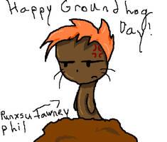 HAPPY GROUNDHOG DAY by tehmandy