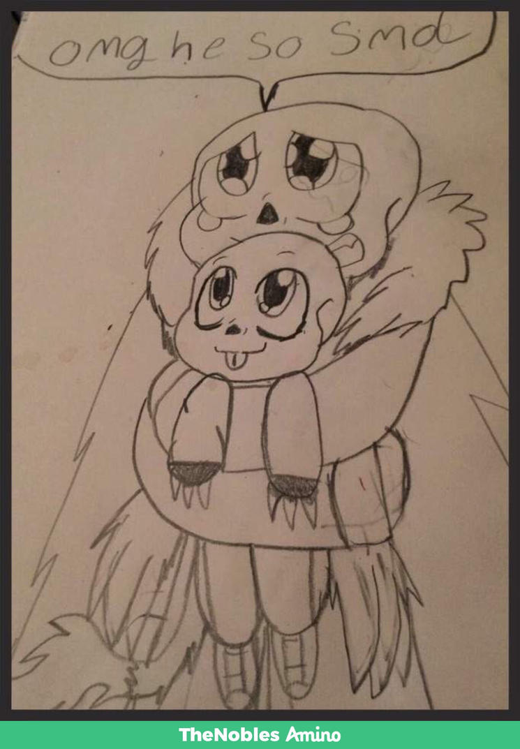Abyss sans and soul sans  by rokaigale