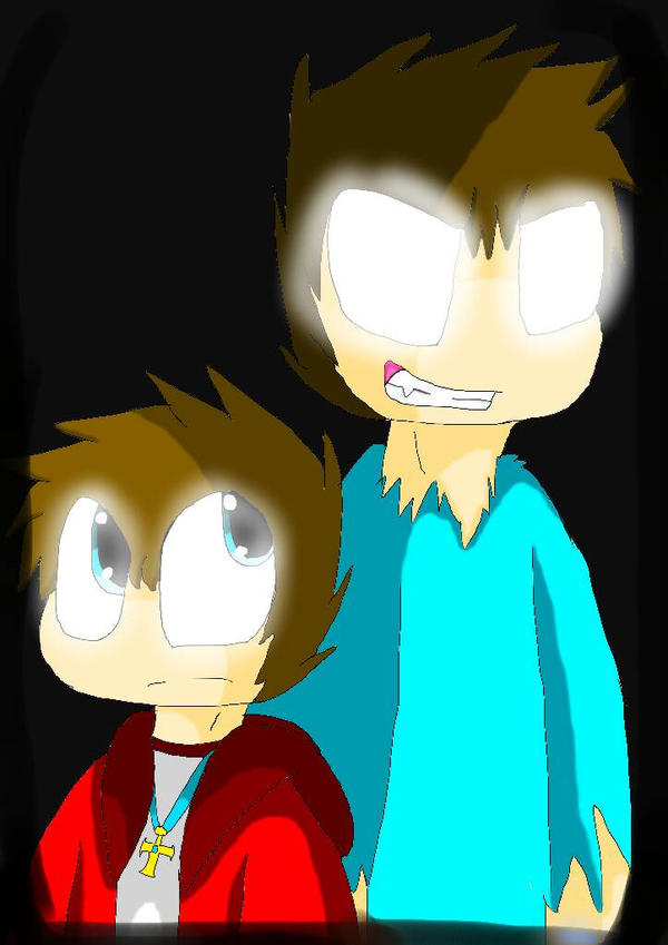 herobrine and cody by rokaigale