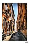 Narrow street...