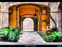 garden of doors... by archonGX