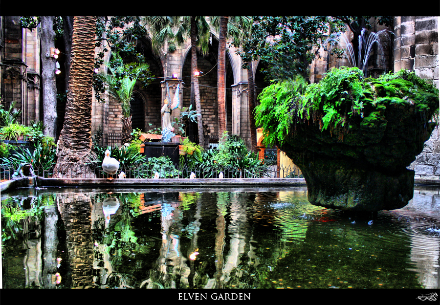 elven garden by archonGX