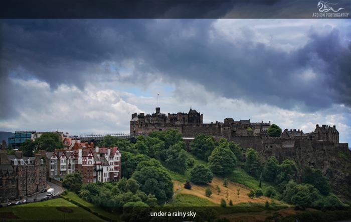 under a rainy sky by archonGX