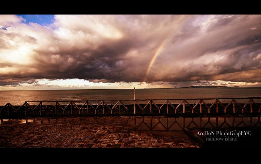 Rainbow island by archonGX