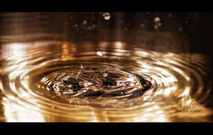 Golden water by archonGX
