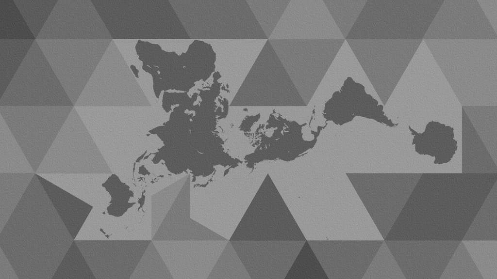 Dymaxion world map wallpaper by paki13 on deviantart dymaxion world map wallpaper by paki13 gumiabroncs Image collections