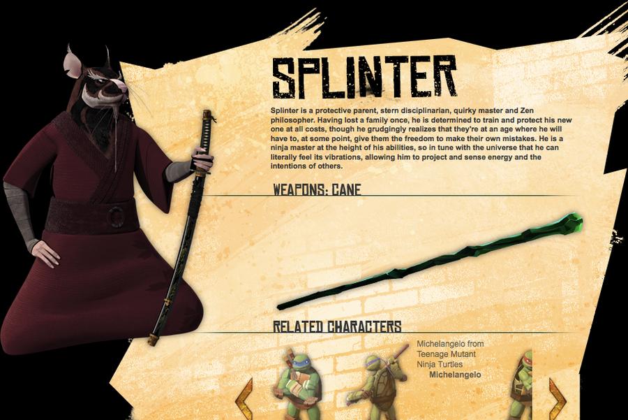 TMNT 2012 Splinter Bio by SarahDragon on DeviantArt