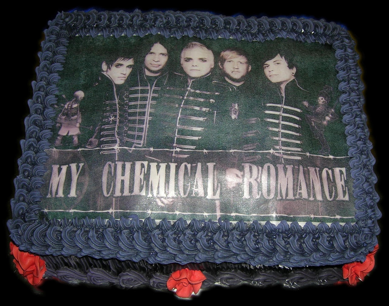 my chemical romance birthday cakes