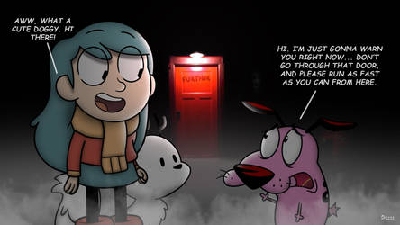 Hilda Meets Courage (Insidious Parody) by SP2233