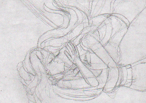 Elizuke x Samantha - Free Falling with a kiss
